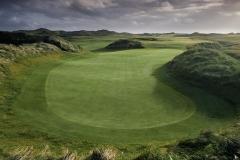 Hole 10 at Doonbeg Golf Club